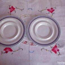 Vintage: 2 PLATOS PONTESA. Lote 154040950