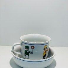 Vintage: JUEGO DE DESAYUNO DE PLAYMOBIL. Lote 154267561