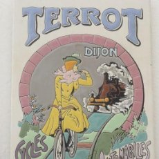 Vintage: LOZA PORCELANA .TERROT 20X30 .PARA COLGAR.. Lote 154730298