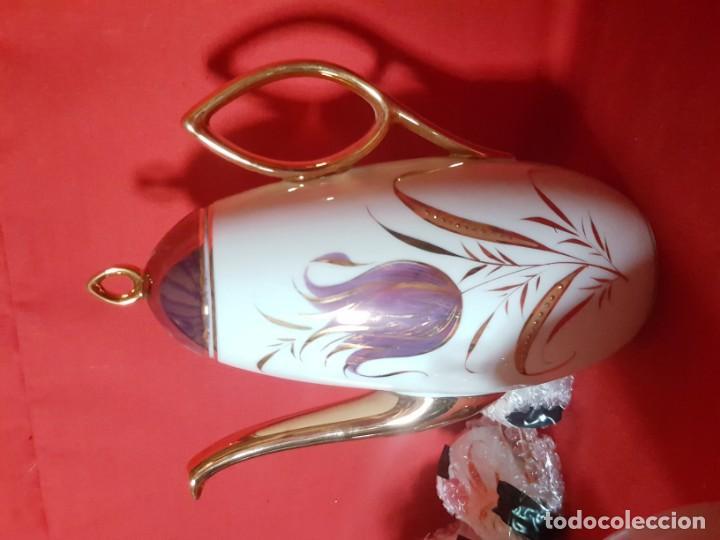 Vintage: Juego de café o té CAPEANS de porcelana con adornos florales. - Foto 4 - 155150834
