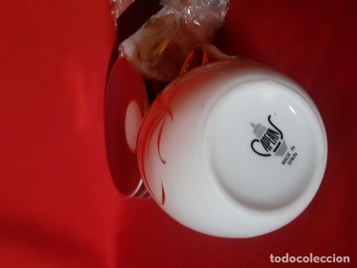 Vintage: Juego de café o té CAPEANS de porcelana con adornos florales. - Foto 6 - 155150834