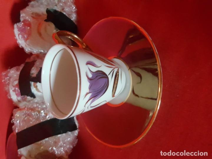 Vintage: Juego de café o té CAPEANS de porcelana con adornos florales. - Foto 7 - 155150834