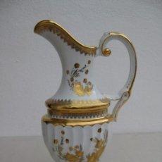 Vintage: JARRON PORCELANA LAURENT´S. ORO 24 QUILATES. Lote 155510382
