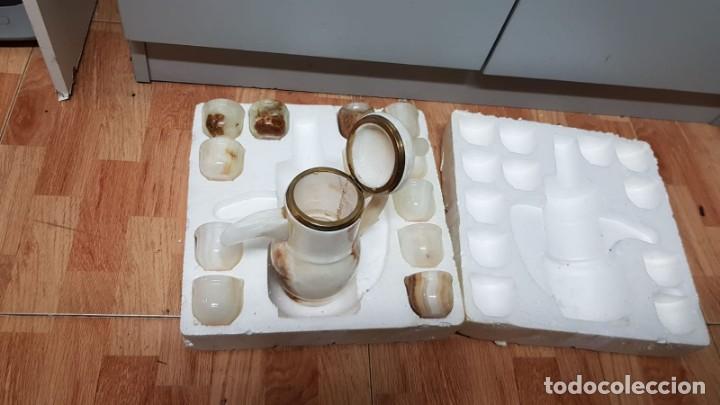 Vintage: Juego de cafe en marmol - Foto 6 - 155854950