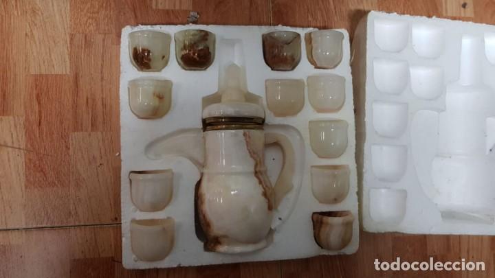 Vintage: Juego de cafe en marmol - Foto 7 - 155854950