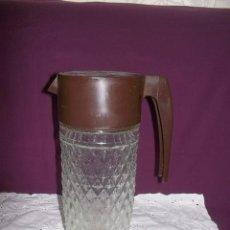 Vintage: JARRA DE CRISTAL NESCAFE-AÑOS 70. Lote 125240931