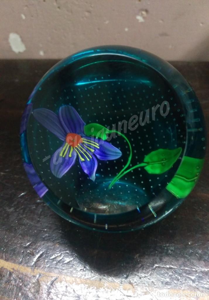 Vintage: Pisapapeles de cristal vintage - Foto 2 - 157213850