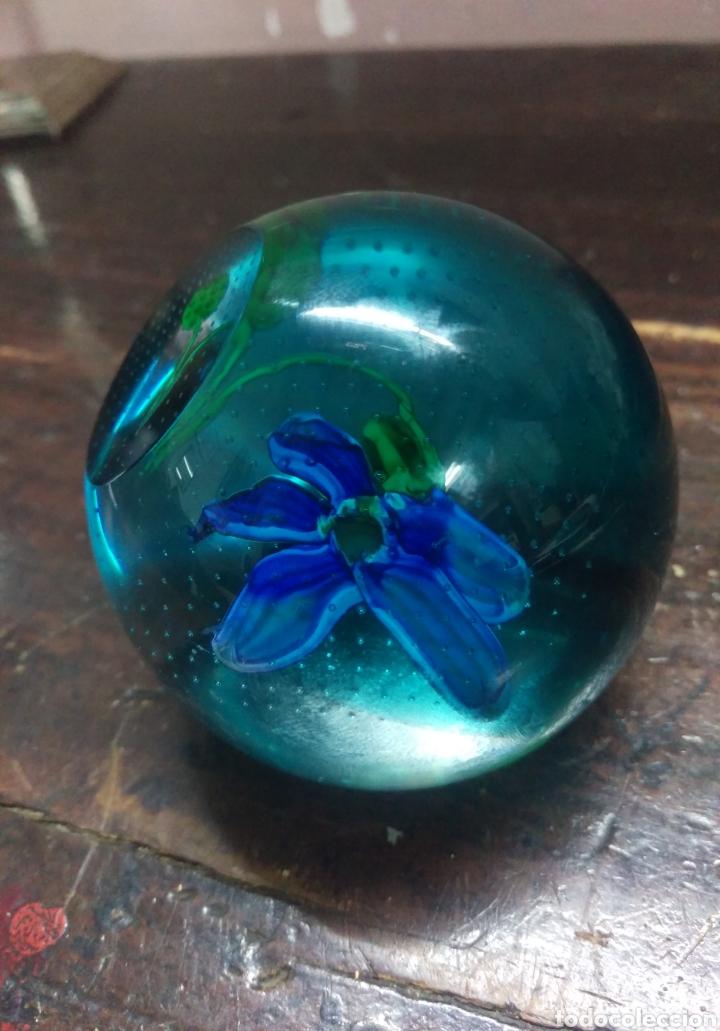 Vintage: Pisapapeles de cristal vintage - Foto 3 - 157213850