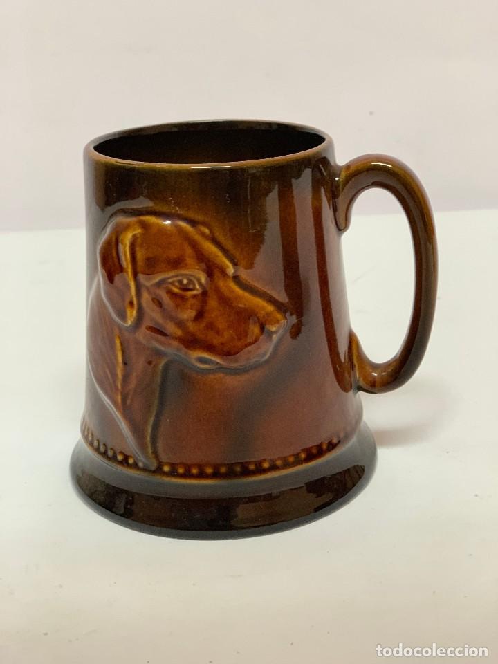 JARRA CERÁMICA SYLVAC ORIGINAL INGLESA ¡NUEVO! AÑOS 60 (Vintage - Decoración - Porcelanas y Cerámicas)