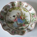 Vintage: PLATO CHINO ONDULADO - MUY DECORATIVO. Lote 157445869