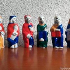 Vintage: 6 APÓSTOLES PORCELANA DE O CASTRO - GALICIA SARGADELOS. Lote 157764694