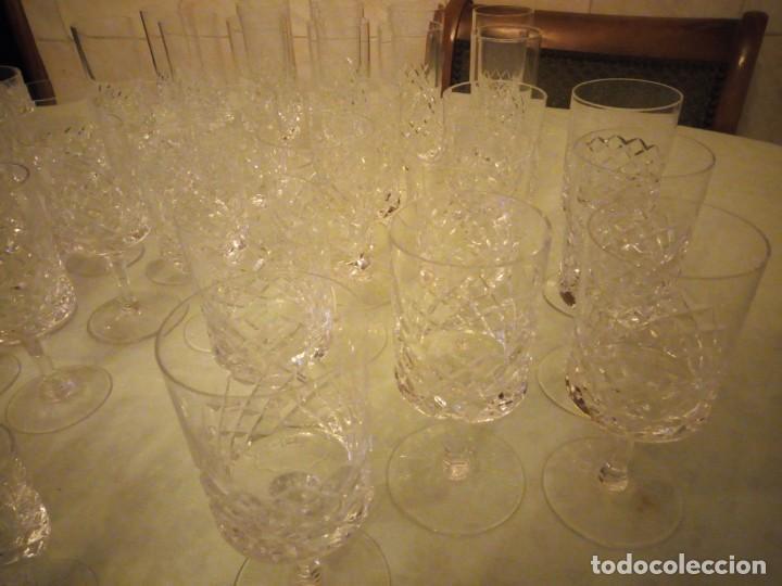 Vintage: Antigua cristalería compuesta de 55 piezas,vino,champagne,coctel,licor,años 70 - Foto 6 - 157981694