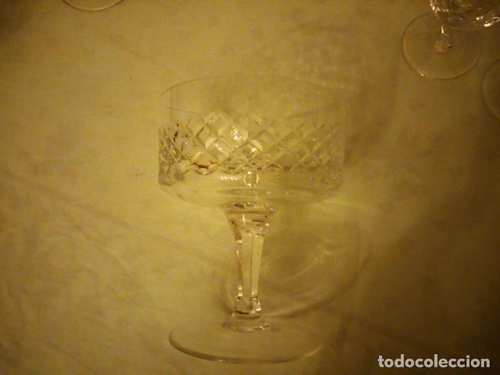 Vintage: Antigua cristalería compuesta de 55 piezas,vino,champagne,coctel,licor,años 70 - Foto 9 - 157981694
