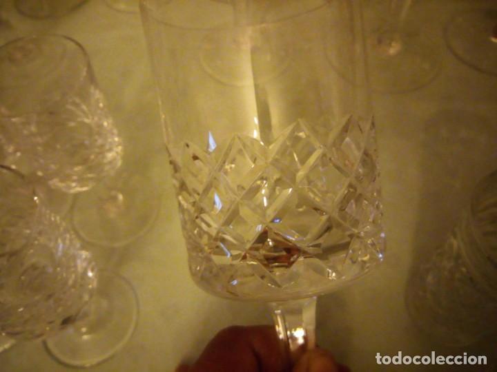 Vintage: Antigua cristalería compuesta de 55 piezas,vino,champagne,coctel,licor,años 70 - Foto 13 - 157981694