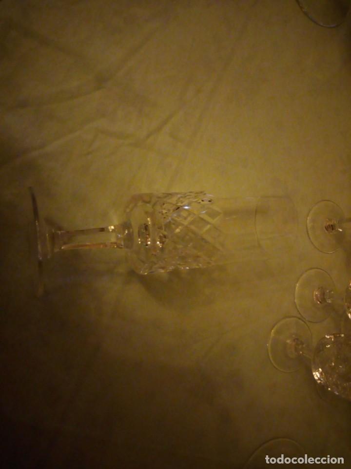 Vintage: Antigua cristalería compuesta de 55 piezas,vino,champagne,coctel,licor,años 70 - Foto 14 - 157981694