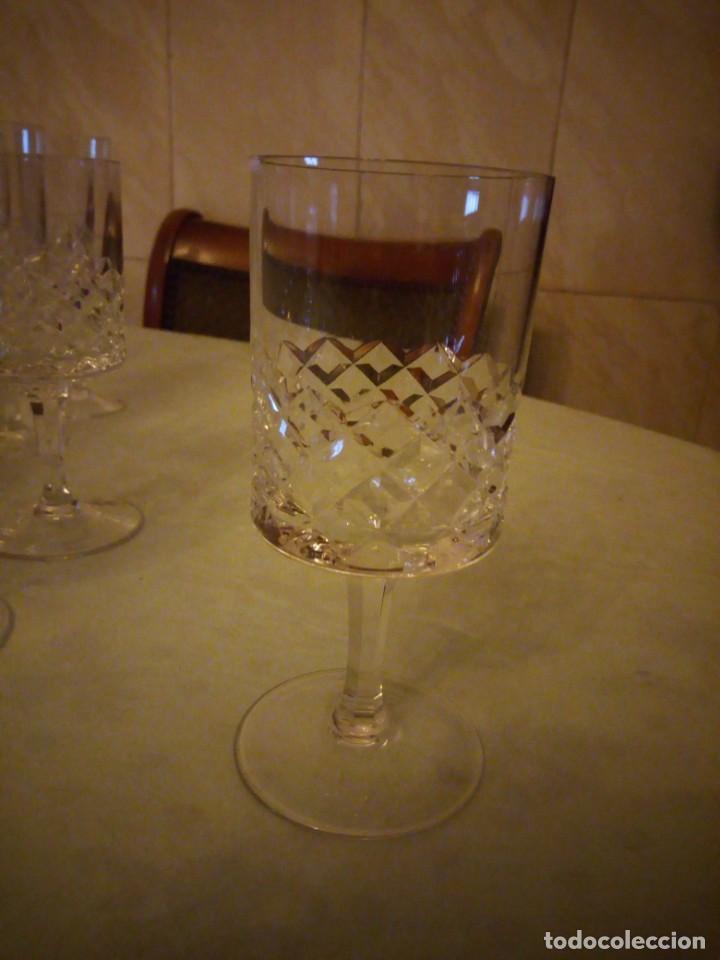 Vintage: Antigua cristalería compuesta de 55 piezas,vino,champagne,coctel,licor,años 70 - Foto 16 - 157981694