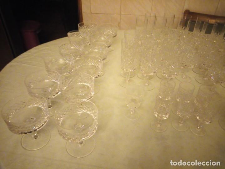 Vintage: Antigua cristalería compuesta de 55 piezas,vino,champagne,coctel,licor,años 70 - Foto 18 - 157981694