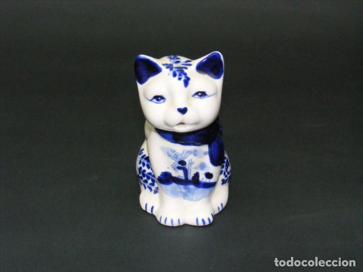 Vintage: JARRA PARA LECHE - FIGURA DE PORCELANA HANDP D BLUE Nº 635 - . - Foto 2 - 158421906