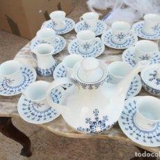 Vintage: JUEGO DE CAFE BIDASOA. Lote 159392554