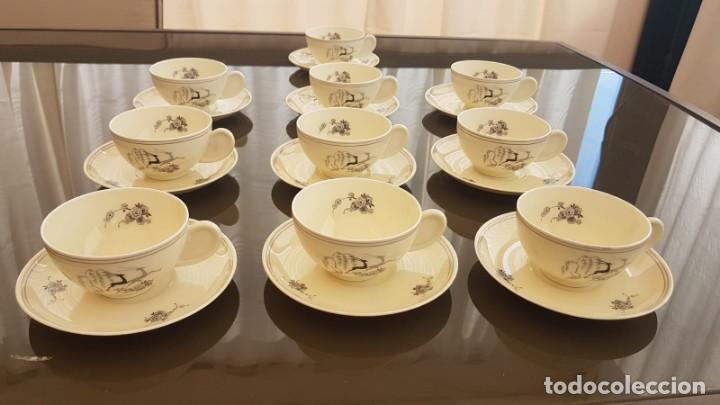 JUEGO DE TE (Vintage - Decoración - Porcelanas y Cerámicas)