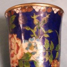 Vintage: CLOISONNE DE BRONCE. Lote 159697436