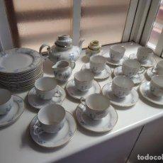 Vintage: JUEGO DE CAFE PORCELANA ALEMANA SELTMAN WEIDEN AÑOS 60-70 (12 SERVICIOS+12 PLATOS POSTRE). Lote 159856086
