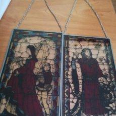 Vintage: FIGURA EN CRISTAL ESMALTADO. Lote 159858330