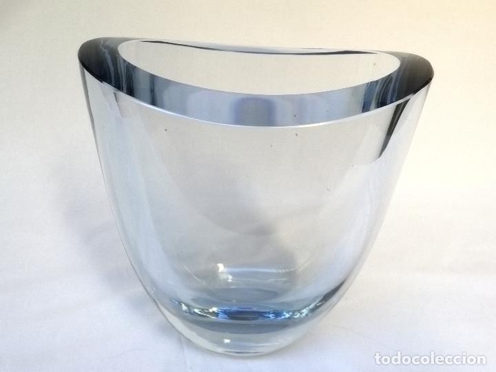 Vintage: Florero de cristal - Foto 4 - 160098802