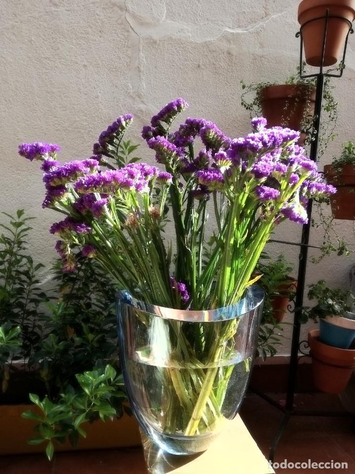 Vintage: Florero de cristal - Foto 7 - 160098802