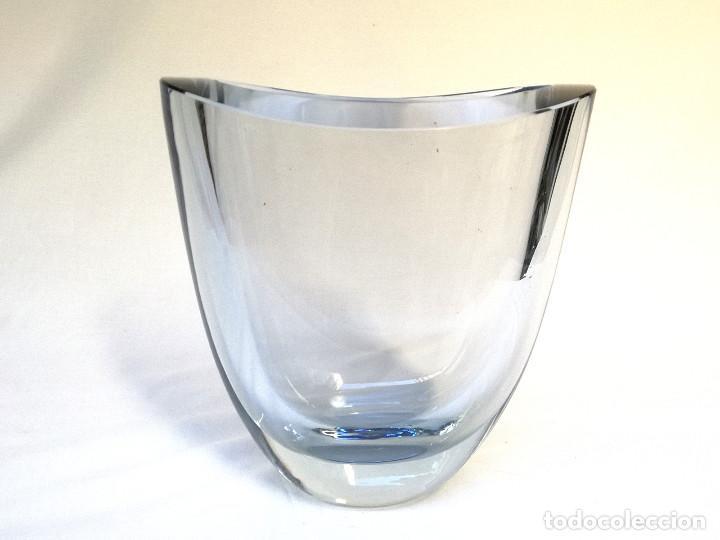 Vintage: Florero de cristal - Foto 9 - 160098802