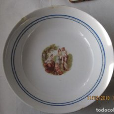 Vintage: ANTIGUO PLATO DE PORCELANA DE SAN CLAUDIO OVIEDO . Lote 160221030