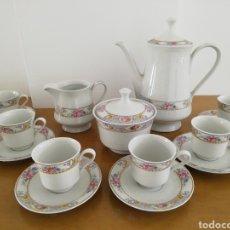 Vintage: JUEGO DE CAFÉ PORCELANA ITALIANA TOGNANA. Lote 160259526