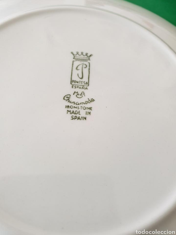 Vintage: Juego de porcelana Pontesa.Motivos caballos. - Foto 7 - 160266780