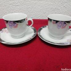 Vintage: PAREJA DE TAZAS DE DESAYUNO, PORCELANA PAGODA. Lote 160345285