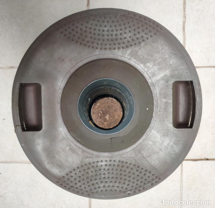 Vintage: ANTIGUA GARRAFA O BOTELLA DE VIDRIO DAMAJUANA VIRESA DE 16 L CON PROTECCION DE PLASTICO (AÑOS 70/80) - Foto 2 - 160566518