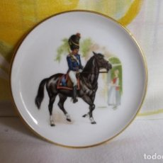 Vintage: PLATITO PORCELANA JKW BABARIA-SOLDADO. Lote 160867014