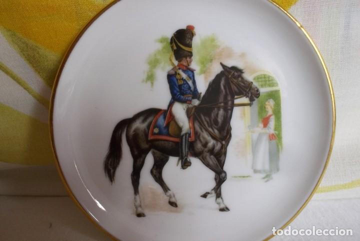 Vintage: PLATITO PORCELANA JKW BABARIA-SOLDADO - Foto 2 - 160867014