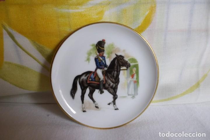 Vintage: PLATITO PORCELANA JKW BABARIA-SOLDADO - Foto 3 - 160867014