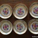 Vintage: 6 PLATITOS DE CAFE . Lote 160956890