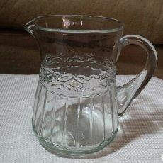 Vintage: JARRA ANTIGUA CRISTAL. Lote 160992306