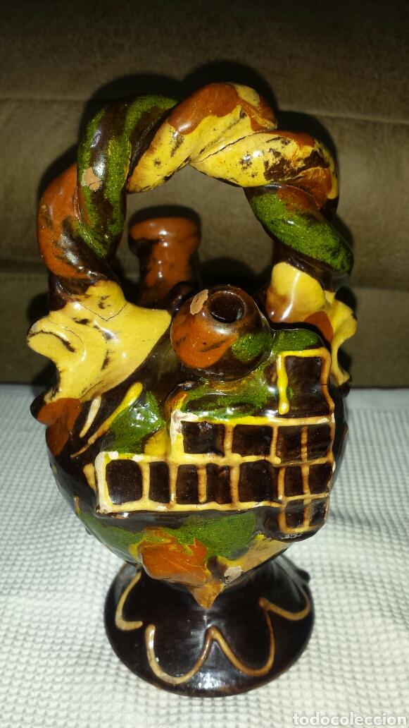 BOTIJO CUENCA (Vintage - Decoración - Porcelanas y Cerámicas)