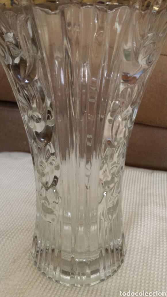 Vintage: Florero de cristal - Foto 3 - 161126294
