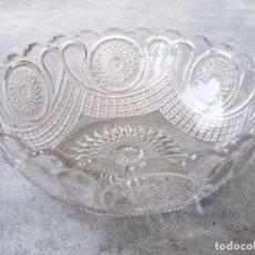 Vintage: BOL VINTAGE CRISTAL TALLADO DIÁMETRO 20 CM. Lote 161341694