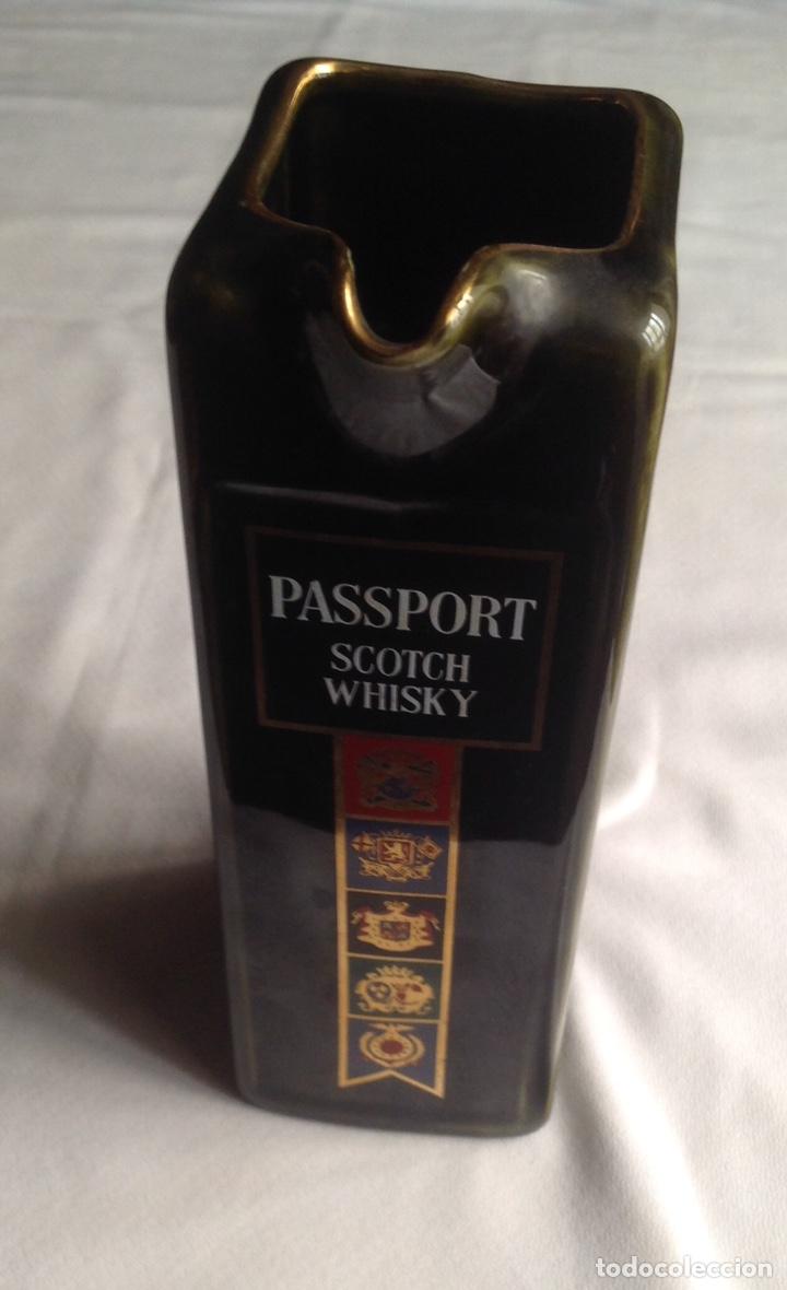 Vintage: Jarra de cerámica whisky PASSPORT - Foto 2 - 161372462
