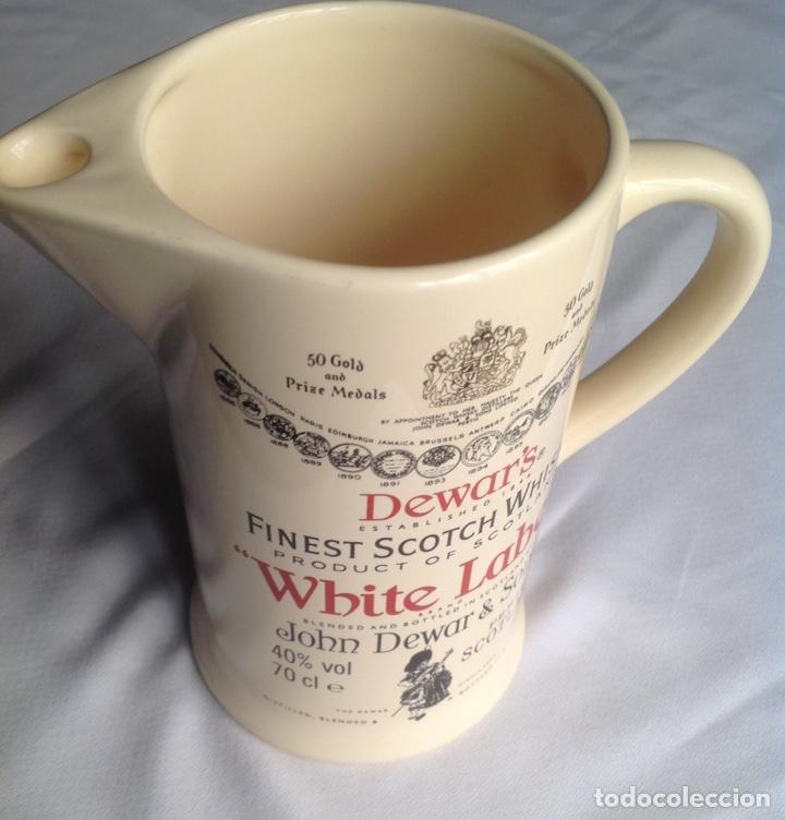 Vintage: Jarra cerámica de Whisky WHITE LABEL - Foto 6 - 161372853