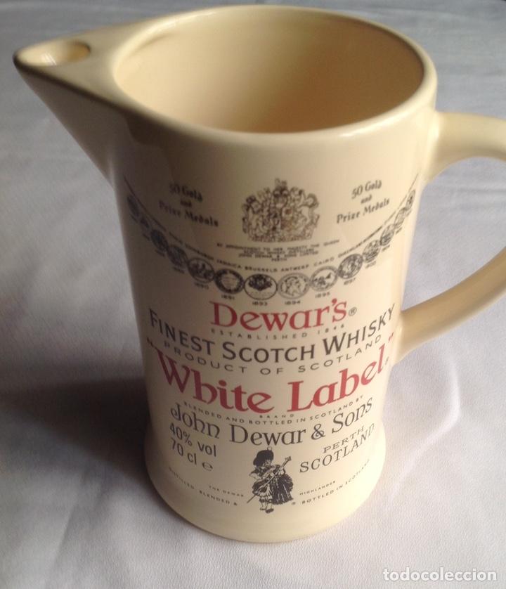 Vintage: Jarra cerámica de Whisky WHITE LABEL - Foto 9 - 161372853