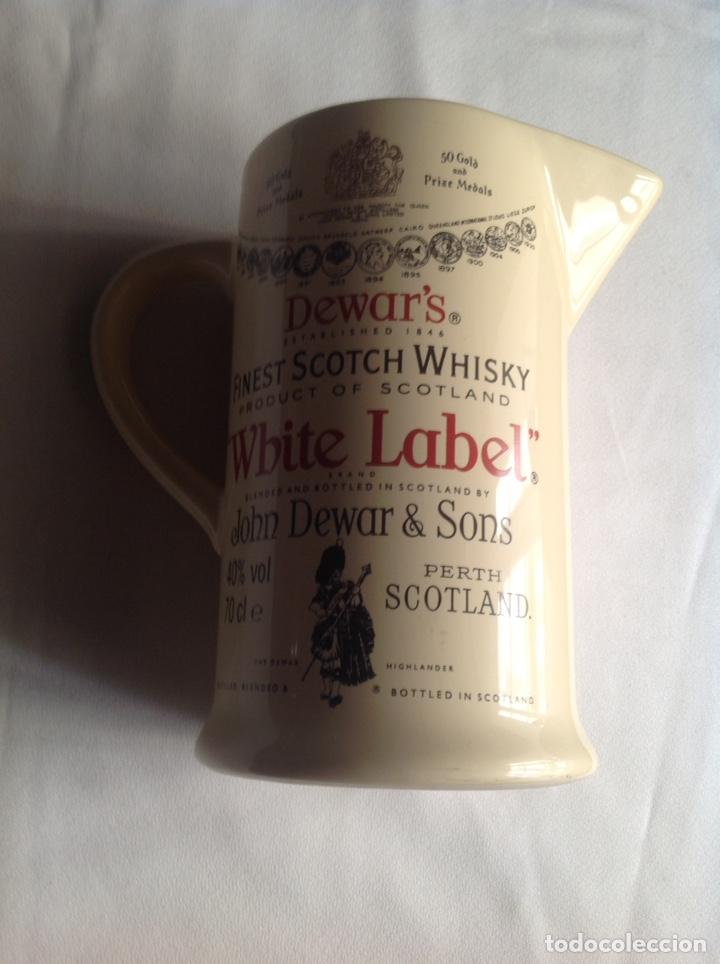 Vintage: Jarra cerámica de Whisky WHITE LABEL - Foto 11 - 161372853