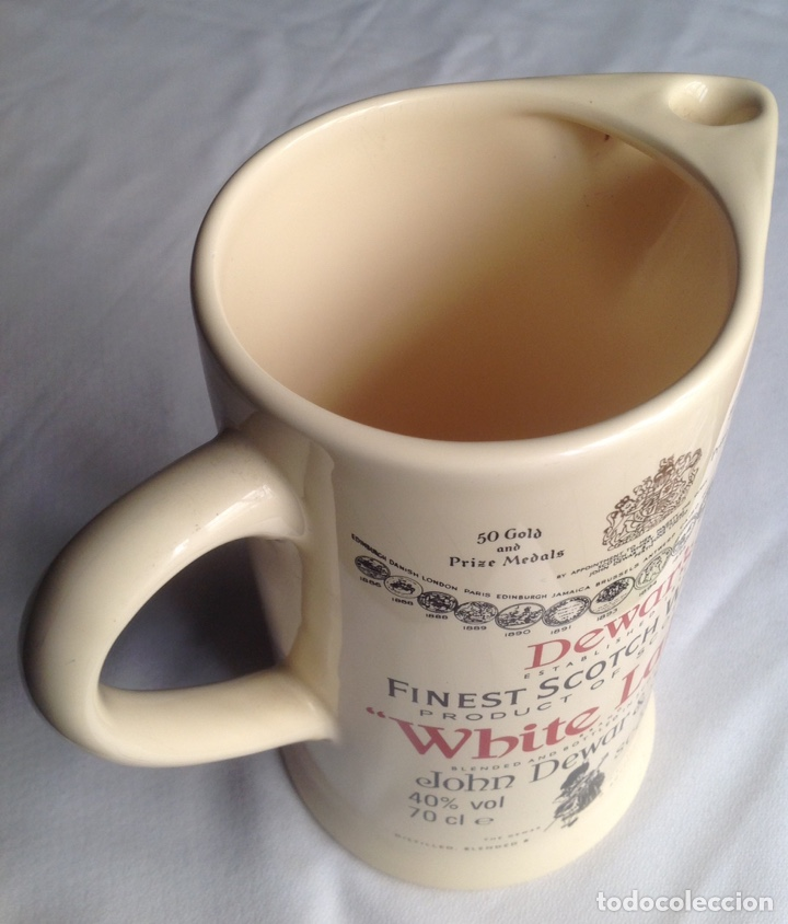 Vintage: Jarra cerámica de Whisky WHITE LABEL - Foto 3 - 161372853