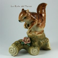 Vintage: ARDILLA - FIGURA DE PORCELANA. Lote 161989898