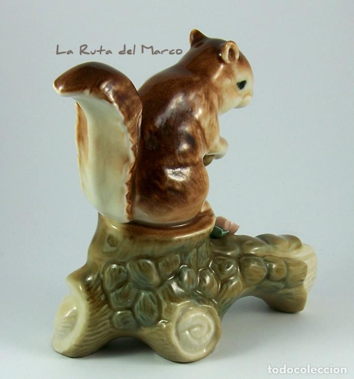 Vintage: Ardilla - Figura de porcelana - Foto 3 - 161989898